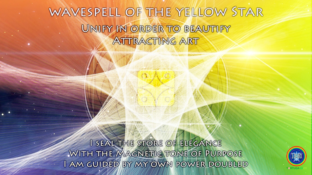 Dreamspell Journey ~ Wavespell 20 of the Yellow Star ~ Power of Elegance