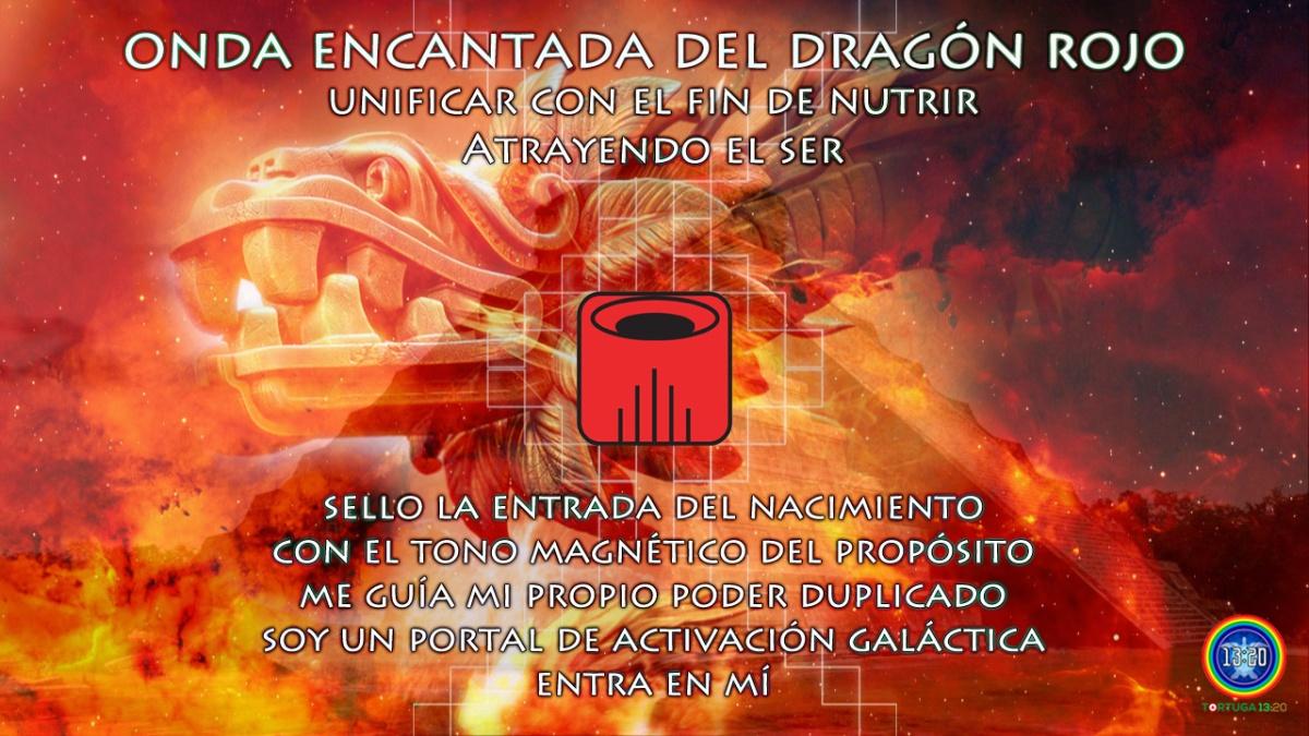 Dreamspell ~ Onda Encantada 1 del Dragón Rojo ~ Poder del Nacimiento