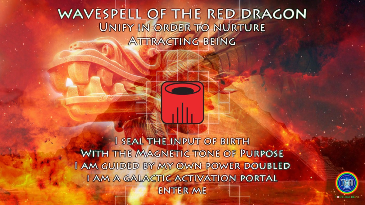 Dreamspell Journey ~ Wavespell 1 of the Red Dragon ~ Power of Birth