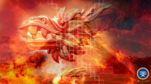 quetzalcoatl-kukulkan-dragon-rojo-maya-galactico