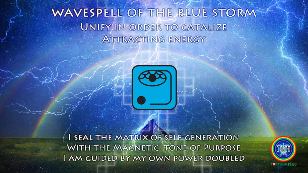 Blue Storm Wavespell 7 ~ Dreamspell Journey