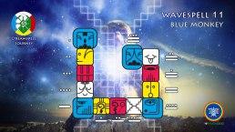 Dreamspell Wavespell 11 / Onda Encantada 11
