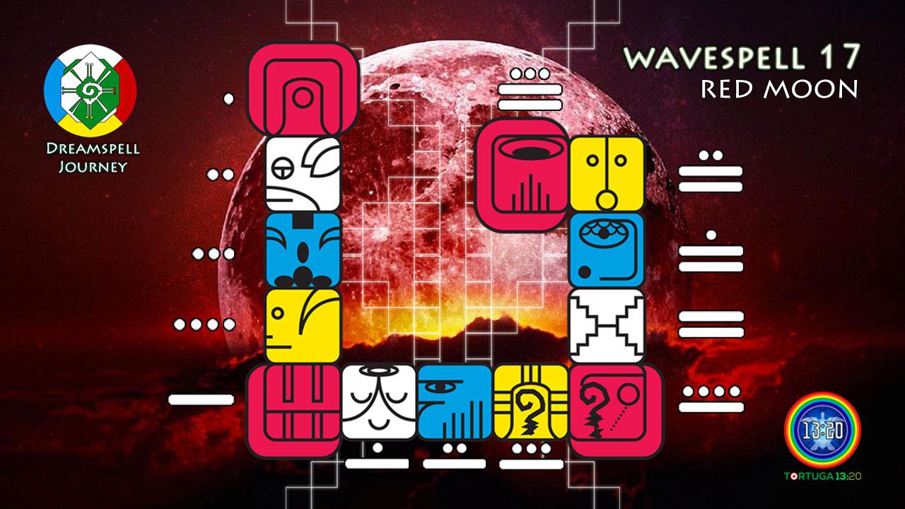 Red Moon Wavespell / Onda Encantada de la Luna Roja