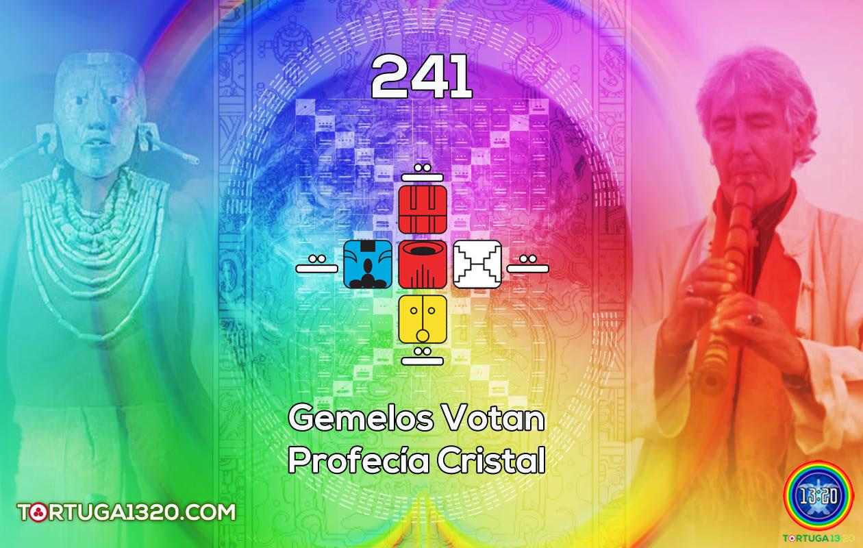 El Número 241 y los Gemelos Votan: La Profecía Cristal guiada por el Maestro 33.