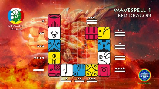 Red Dragon Wavespell / Onda Encantada del Dragón Rojo