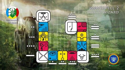 White Wizard Wavespell / Onda Encantada del Mago Blanco
