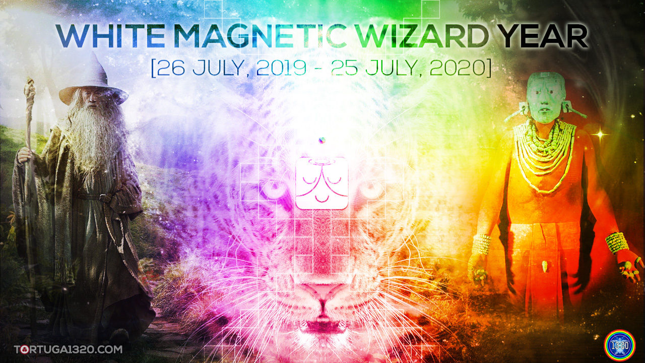Magnetic Wizard Year: An Initiation into the Higher Dimensions of Timelessness