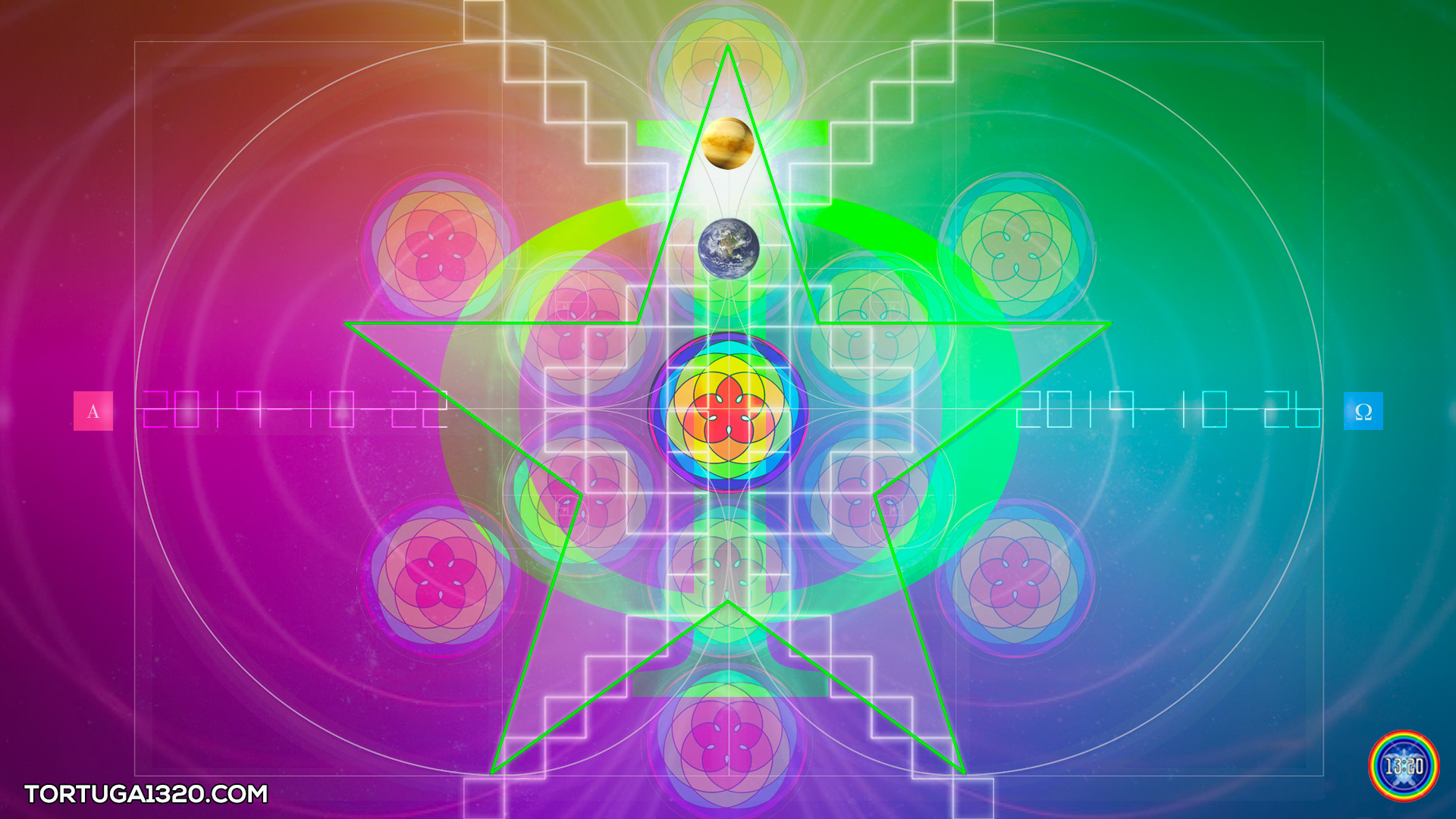 Noospheric Emergence pART 9: Harmonic Convergence of Golden Proportions
