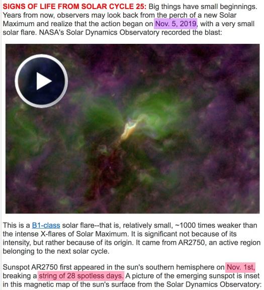SpaceWeather-SC25-Flare1-2019-11-5-K116