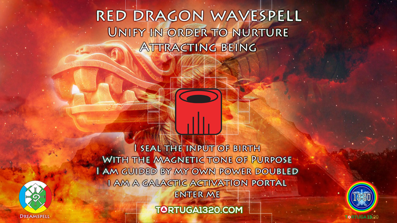 Wavespell 1 of the Red Dragon ~ Power of Birth ~ Dreamspell Journey