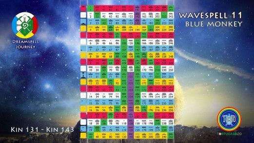 Tzolkin: Wavespell 11 / Onda 11
